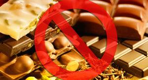 Не употреблять шоколад