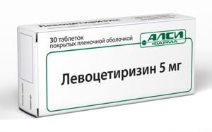 Лекарство Левоцетиризин