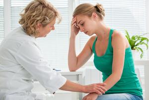 Симптомы  болезней  у женщин
