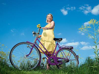 Можно ли кататься на велосипеде беременным женщинам