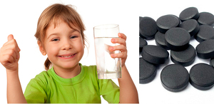 Как правильно принимать активированный уголь для детей