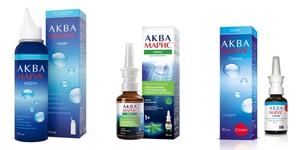 Капли назальные Аквамарис - действующее вещество
