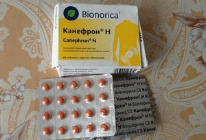 Описание лекарственного препарата Канефрон