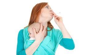 Вред курения при грудном вскармливании