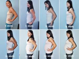 Сколько недель 5 месяцев беременности