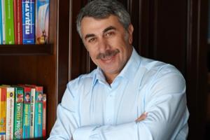 Доктор Комаровский - один из самых известных педиатров