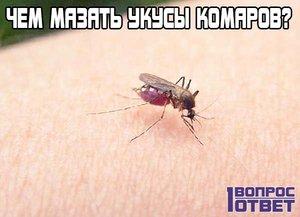 Как лечить укусы комарей