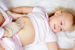 Изменения внутренних органов ребенка