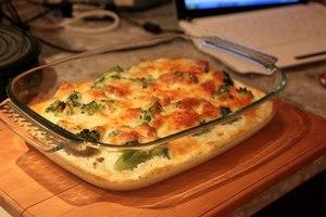 Запекаем капусту в духовке, пока сыр не расплавится